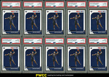 Lot(10) 2019 Panini Hoops Zion Williamson ROOKIE RC #258, ALL PSA 10 GEM