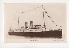 Steamship SS St Briac Vintage RP Postcard 122b