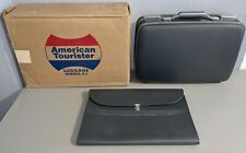 *MINT* Vintage American Tourister Suitcase Attache Luggage Hard Case Box #1018M
