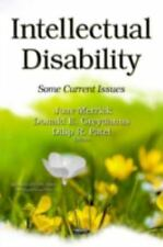 Disability Studies: Intellectual Disability: Some Current Issues 2014 Hardcover
