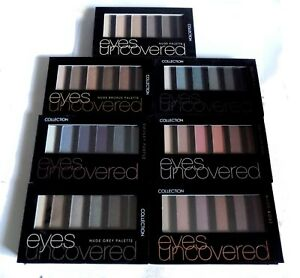 Collection Eyes Uncovered Eyeshadow Palette Kit Pick A Shade Brown Pink Grey