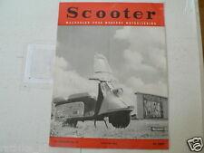 SCOOTER 1963 NO 10 HEINKEL COVER, 3E SLL RALLYE RHENEN,IBING,HELM,PRAM WHITE