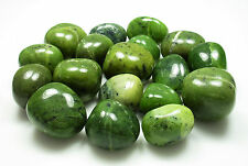 TUMBLED - (1) Large NEPHRITE JADE Crystal with Description - Healing Stone Reiki