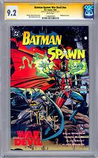 BATMAN-SPAWN WAR DEVIL #NN CGC-SS 9.2 SIGNED TODD MCFARLANE SPAWN CREATOR 1994