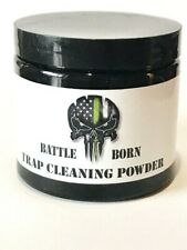 Battle Born Trap Cleaning Powder Steel Cleaner And Conditioner Made In Usa
