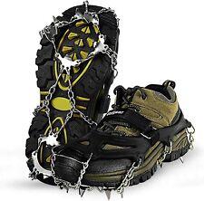 Anti-Rutsch Spikes Schuhe Schuhspikes Eiskrallen Schuhkrallen Gleitschutz 36-47