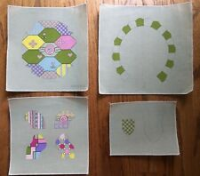 """Sew Much Fun! 4 Hand-painted Needlepoint Canvases 3-D """"Tabitha Turtle""""/SG"""