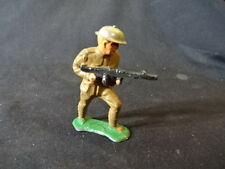 Old Vtg Barclay Military Lead Toy Soldier Marching Holding Machine Gun Usa