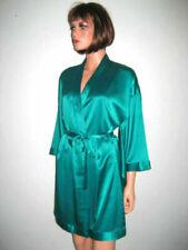 MARJOLAINE DESHABILLE vert taille 38 ORAGE 98% SOIE green ROBE size S