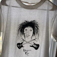 Vintage 1990s Henrietta Kahn Shirt Size L Ruby Starr Tour Grunge Rock 90s