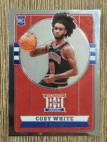 2019-20 Panini Chronicles Hometown Heroes Coby White Rookie #551 Chicago Bulls🔥