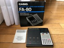 CASIO FA-80 LIKE NEW IN BOX - Cassette Printer Interface for FX-8500G 8000G RARE