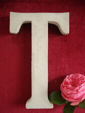 "Fassaden - Buchstaben "" T "" - Namen - Inizialen aus Beton  - Stuck Aussenfassade"