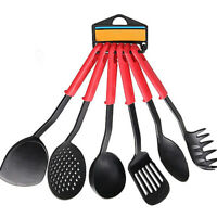 6X Heat Resistant Non-stick Nylon Kitchen Cookware Set Cooking Utensil Tools Kit