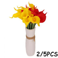 Home Decoration Fake Plant Artificial Calla Bridal Bouquet Simulation Flowers
