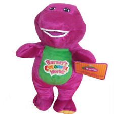 "Barney The Dinosaur Plush Toy 11"" Sing I Love You song Purple Soft Toy Doll Gift"