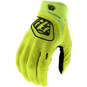 Troy Lee Designs Air Gloves Youth Kid Mx Motocross Bmx Mtb Dh Cycling FLO YELLOW