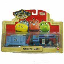 BOX CHUGGINGTON TRAIN WOODEN MAGNETIC TRAIN- QUARRY CARS SET