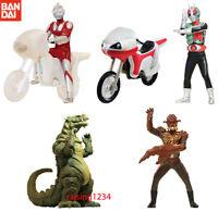 Bandai Ultraman VS Kamen Rider HG Figure Gashapon New Cyclone set 5 pcs