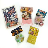 Vintage Dime Store Toy Lot 1960s Plastic Made in Hong Kong Original Package