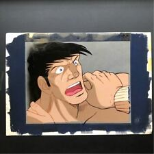 Cel original picture Ashita no Joe 2 Kin Ryuhi 1 w/ Background Vintage Art[85]