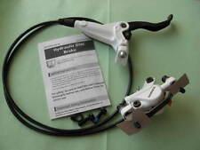 BR-M447/BL-M445 VR ANTERIORE Freno a disco del bianco + ADATTATORE 180 NEU