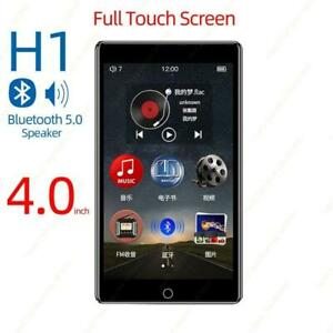MP3 Player Touch Screen Bluetooth 8GB Speaker FM Radio Recording Video E book