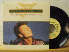"""7"""" Single - CLIFF RICHARD - We Should Be Together - The Twelve Days Of Christmas"""