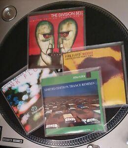 PINK. FLOYD 4-CD LIMITED EDITION PROMO TRANCE REMIX SET - OBS/DIV/MEDDLE/MOMENT