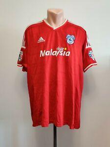 Football shirt soccer FC Cardiff City Away 2015/2016 Adidas Adizero Jersey Issue