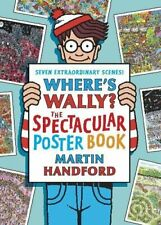 Where's Wally? The Spectacular Poster Book by Handford, Martin Paperback Book