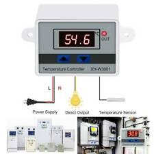 12V/110V-220V 10A All-Purpose Temperature Controller Thermostat Aquarium Sensor