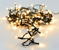 String Fairy Lights - 192 White LED Lights Garden Lounge Christmas Wedding Party