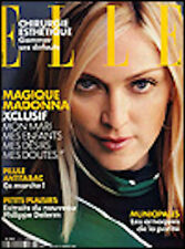 ELLE French 2873 - January 2001 - Madonna