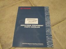 Toyota 8FGU and 8FGCU IC Forklift Parts Manual. 3000-6500 lbs. *Very Nice* 2014
