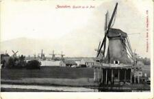CPA ZAANDAM Gezicht op de Poel NETHERLANDS (602783)
