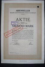 Arienheller Sprudel und Kohlensäure AG  Rheinbrohl 1922