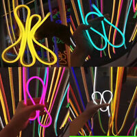 DC 12V LED Strip Neon Tube Rope Light Flexible Outdoor Boat Bar Sign Decor 4M