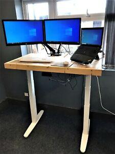 Sit Stand Desk, Electric Standing Desk, Ergonomic Height Adjustable Desk