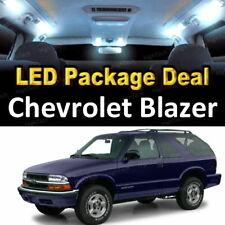 For 2000 - 2005 Chevrolet Blazer LED Lights Interior Package Kit WHITE 13PCS