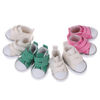 5cm Canvas shoes for doll fashion mini shoes dolls shoes for dolls accessoryJKU