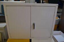 HAZARDOUS MATERIALS CUPBOARD - DOUBLE DOOR (WHITE)