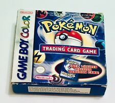 POKEMON TRADING CARD GAME Nintendo Game Boy Color GBC DMG-AXQX-HEIU PAL-ES
