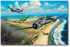 Pacific Glory by Anthony Saunders - F6F Hellcat - Aviation Art Print