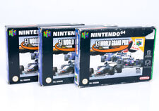 F1 World Grand Prix Boxed Bundle - N64 Nintendo 64 Cartridge PAL