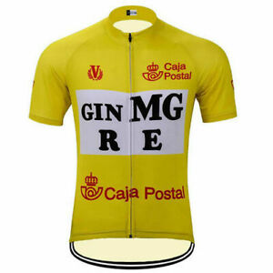 GIN MG ORBEA  cycling Short Sleeve Jersey mens Cycling Jersey