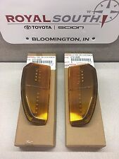 Toyota Tundra Towing Mirror Left & Right LED Turn Signal Lens Genuine OE OEM