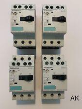 4 Stück Siemens / Motorschutzschalter / 3RV1011-0DA10