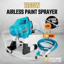 Airless Paint Sprayer 1200W 3200PSI Wall Painting Machine Gun Nozzle Hose DIY