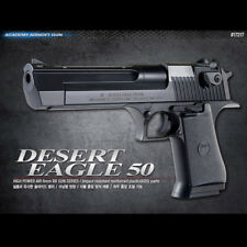 Academy Korea Desert Eagle 50 Black Airsoft Pistol BB Replica Hand Toy Gun 6mm